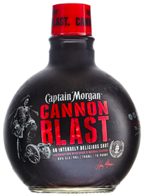 Captain Morgan Rum Cannon Blast 750ml